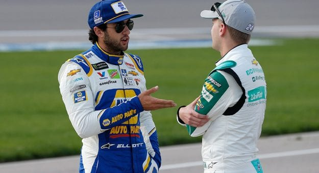 Chase Elliott and William Byron