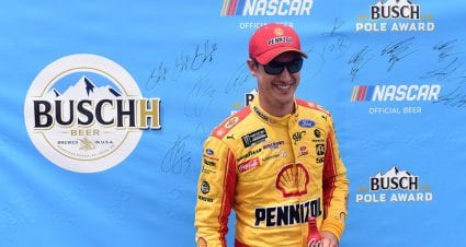 Joey Logano ices Busch Pole Award in Ford-dominated Michigan qualifying
