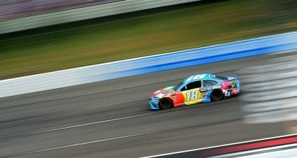 Kyle Busch's winning No. 18 all clear in Pocono post-race inspection