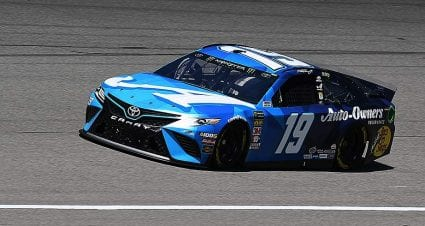 Truex's JGR No. 19 team hit with ejection after inspection failures at Michigan