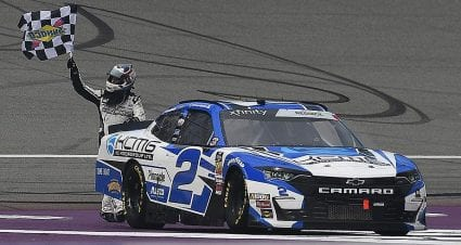 Tyler Reddick makes most of Michigan mileage for Xfinity victory