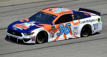 No. 36 car fails inspection at Chicagoland Speedway
