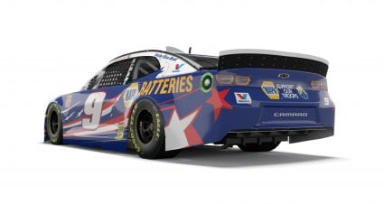 Elliott unveils special scheme for Coke Zero Sugar 400