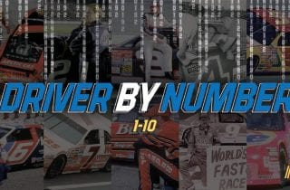 Driver by Number graphic 1-10
