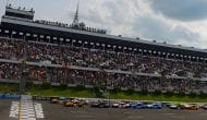 GEICO Restart Zone: The field fans out at Pocono