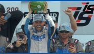Chastain celebrates victory, $50,000 bonus at Iowa