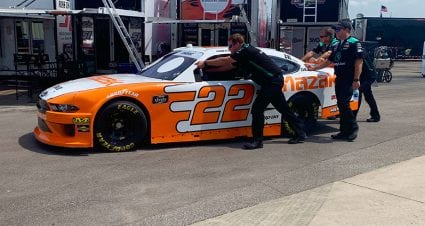 No. 22 Xfinity Series team issued L1 penalty; crew chief escorted from garage