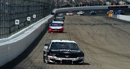 Aric Almirola, Kyle Busch split stage wins at New Hampshire
