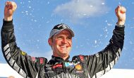 Clint Bowyer's first Cup win at New Hampshire in 2007