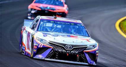 Denny Hamlin's No. 11 all clear in post-race inspection