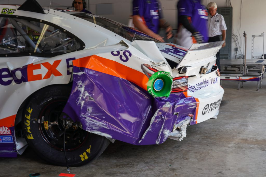 Hamlin Crash