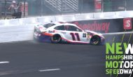 Hamlin smacks wall during first Cup practice, going to backup car
