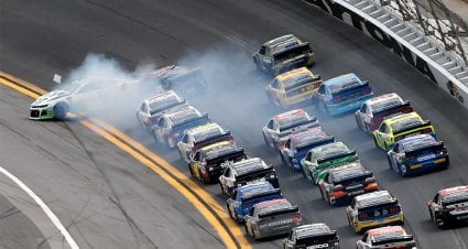 Austin Dillon, Clint Bowyer set off 'Big One' in final stage at Daytona