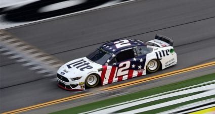 Keselowski done for the day after six-car wreck in Stage 2 at Daytona