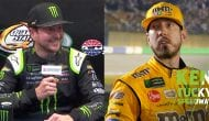 Left behind: Kurt Busch left looking for plane ride after beating Kyle Busch