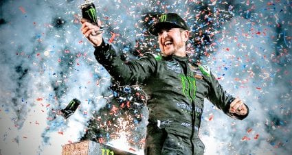Kurt Busch beats out younger brother in overtime at Kentucky