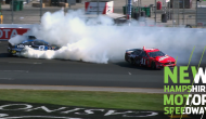 Daniels collide in Stage 2 at New Hampshire