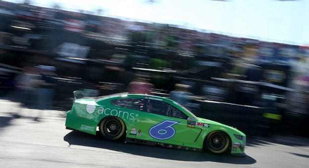 TALLADEGA, AL - APRIL 26:  Ryan Newman, driver of the #6 Acorns Ford, drives through the garage area during practice for the Monster Energy NASCAR Cup Series GEICO 500 at Talladega Superspeedway on April 26, 2019 in Talladega, Alabama.  (Photo by Brian Lawdermilk/Getty Images) | Getty Images