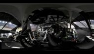 Kurt Busch 360-degree in-car view at Bristol