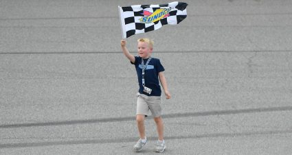 Keelan Harvick leaves Michigan with second checkered flag