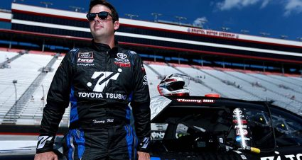 Timmy Hill savors new partnership, equals career-best finish at Bristol