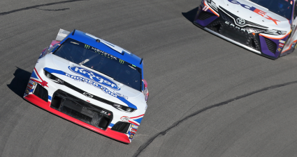 Ryan Preece drives his No. 47 Chevrolet Camaro to seventh-place finish at Michigan International Speedway