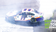 Denny does donuts at Bristol after thrilling win
