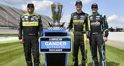 Crafton in, Rhodes out of playoffs in bittersweet day for ThorSport Racing