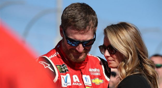 Dale Jr. and wife Amy