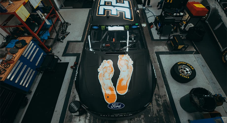 Kelly Ford Gander >> Corey LaJoie to waive month's salary in No. 32 charity effort   NASCAR.com