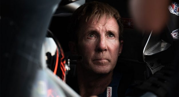 Sterling Marlin at the race track
