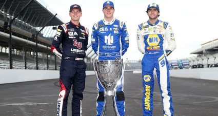 Hendrick's youthful trio ready to navigate NASCAR Playoffs