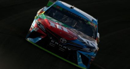 Busch rallies after early damage, blames lapped drivers for late contact