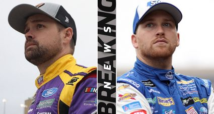 Buescher in, Stenhouse out of Roush Fenway's No. 17 ride for 2020