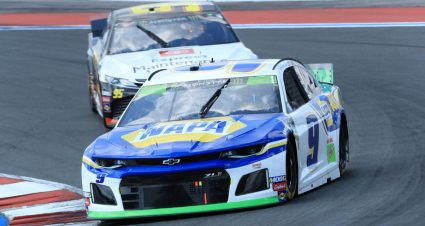 Elliott, Larson take Roval stage wins as Bowman punts Wallace