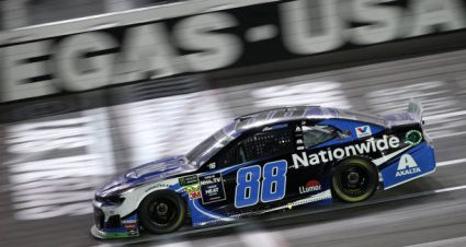 Alex Bowman drives No. 88 Chevrolet Camaro to  sixth-place finish at Las Vegas Motor Speedway