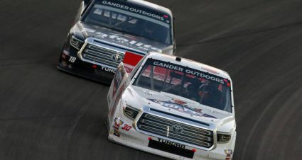 Brennan Poole drives No. 30 Toyota Tundra to  sixth-place finish at Las Vegas Motor Speedway