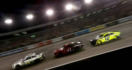 Clint Bowyer drives No. 14 Ford Mustang to eighth-place finish at Richmond Raceway