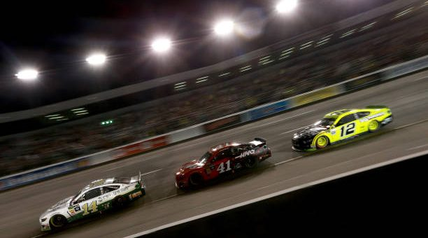 Clint Bowyer Drives No 14 Ford Mustang To Eighth Place Finish At Richmond Raceway.jpg