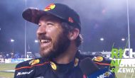 Truex Jr. spins and wins: 'Luckily I didn't hit anything'