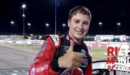 Bell dominates for Richmond playoff win, gives young fan checkered flag