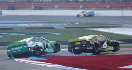 Ryan Newman drives No. 6 Ford Mustang to 32nd-place finish at Charlotte Motor Speedway Road Course
