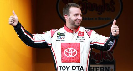 DiBenedetto can't stop smiling after Wood Brothers signing