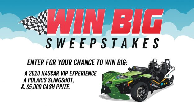 Blue Green Sweepstakes Main