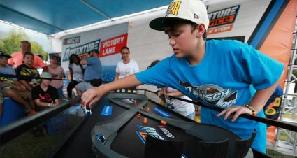 Far out! New Adventure Force NASCAR toys a hit at Darlington