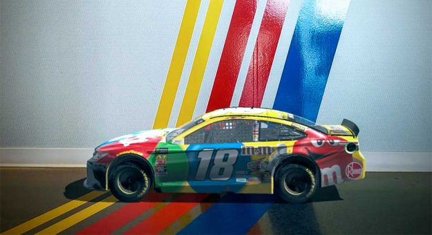 Kyle Busch augmented reality