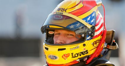 Michael McDowell returns to track after hospital visit for abdominal pain