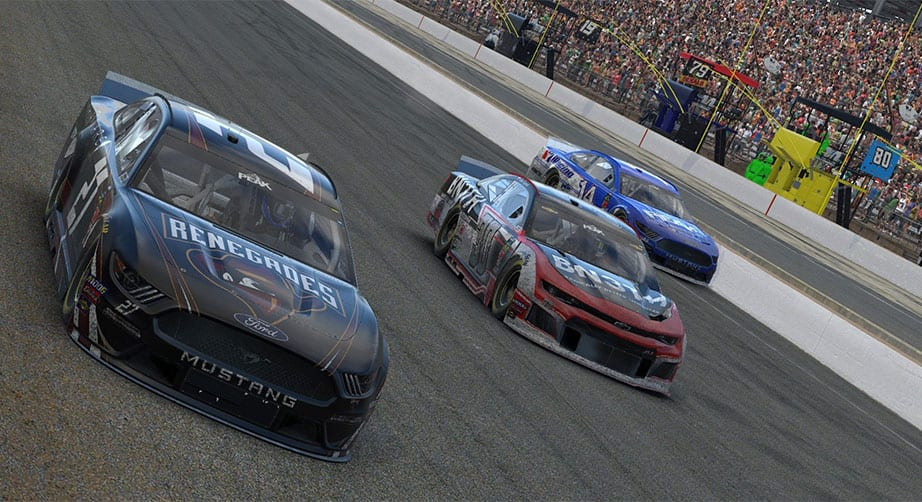 iRacing: Last-lap wreck, pass for win at Indianapolis