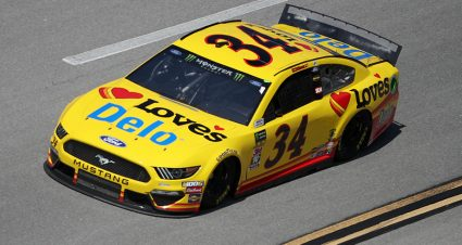 Michael McDowell finishes fifth at Talladega Superspeedway