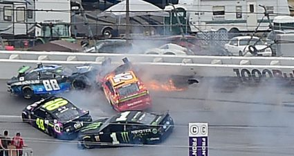 Bowman owns up to 10-car wreck that hurts his playoff chances